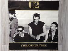 "U2 The Joshua Tree Poster Vintage 1987 Island Records Original 24"" x 24"""
