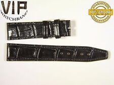 NEW OEM Authentic IWC SANTONI strap 18mm alligator black IWE03417