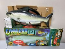 Vtg 2000 Gemmy Cool Singing Catfish - New In Box - Motion Activated + Ac Adaptor