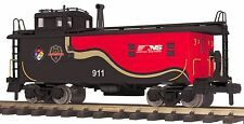 70-77038 Mth One Gauge Norfolk Southern (First Responders) Offset Steel Caboose