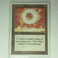 Magic the Gathering MTG Revised Edition (3ED) Sol Ring Artifact