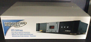Monster Power HTS 3600 MKII Home Theater Reference PowerCenter NEW IN BOX