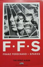 Franz Ferdinand Sparks 2015 2 Sided promotional poster ~New~Mint condition~!