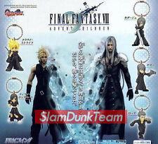 FINAL FANTASY VII Bandai 2005 Advent Children Gashapon Figure Keychain Set of 5