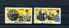 1979 Satz gestempelt Mi.-Nr. 2400-2401, Post früher und heute