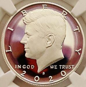 2020 S Kennedy Silver Half PR 70 ULTRA CAMEO Sensational w/ No Marks or Streaks