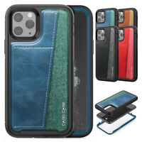 Credit Card Holder Rugged Cover Case For iPhone 11 Pro XS Max XR X 8 7 6S 6 Plus
