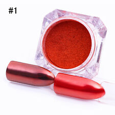Nail Glitter Mirror Powder Chrome Dust Nail Art Pigment Manicure Decoration Tips