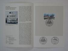 (09j28) Bund Erinnerungsblatt 2009 mit ESST Mi.Nr. 2746 Bahnfährverkehr
