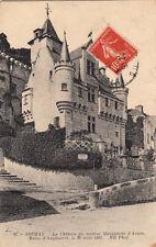 SOUZAY 35 le château timbrée 1912