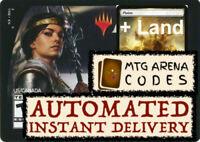 MTG MTGA MAGIC Arena Code Planeswalker Deck Theros Elspeth + LAND INSTANT EMAIL