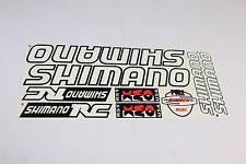 SHIMANO vinyl decals bike stickers frame replacement set