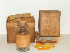 Vintage Edelmann Wasser Glas & Pause Not Batterietester Nos in Original Box