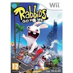 Nintendo Wii : Rabbids Go Home (Wii) VideoGames