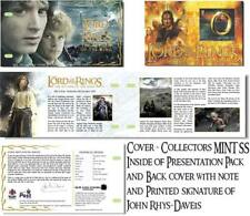 LORD OF THE RINGS STAMPS SOUVENIR SHEET PRESENTATION PACK ISLE OF MAN FRODO