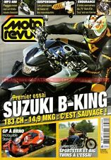 MOTO REVUE 3772 SUSUKI GSX 1300 B-King HARLEY DAVIDSON Sportster 1200 Nightster