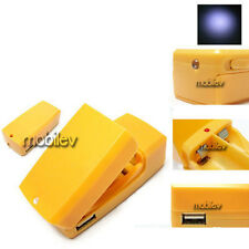 2 x 4 In 1 AA AAA Battery Emergency Mobile Phone Charger LED Flashlight Torch O