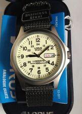 Lorus Para Hombre Militar Lumibrite Reloj Resistente Al Agua 2 Años