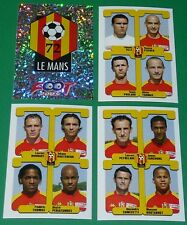PANINI FOOTBALL FOOT 2005 LE MANS 72 LEON-BOLLEE COMPLET FRANCE 2004-2005