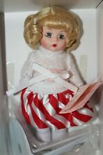 """Candy Cane Wishes Madame Alexander Mint In original Box Rare Doll 8"""""""