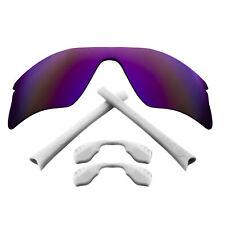 Polarized Replacement Lenses & Kit for Oakley Radar Range Purple Mirror & White