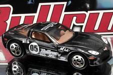 2005 Hot Wheels Bullrun Exclusive C6 Corvette mtflk black