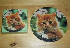 SPRINGBOK 'Wanna play?' Kitten Cat Mini Jigsaw Puzzle ~ Over 60 pieces