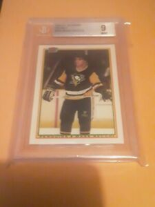 1990-91 Bowman Tiffany Mark Recchi # 206 BGS MINT 9