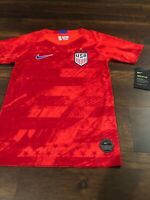 New Nike Youth USA Soccer Breathe Jersey Size Medium Red Blue