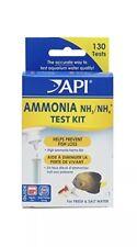 API AMMONIA 130-Test Freshwater Saltwater Aquarium Water 5 Pack 650 Total Tests!