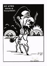 CPA Lardie caricature - Le Long voyage décevant (304324)