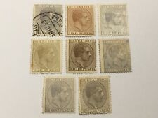 old stamps  CARIBBEAN     x  8  1880-82