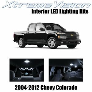 XtremeVision Interior LED for Chevy Colorado 2004-2012 (12 PCS) Pure White
