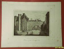 ROMA:FORO DI NERVA.Avanzi.Acquaforte - G.COTTAFAVI.1843