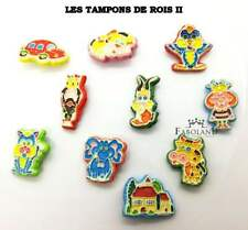 LES TAMPONS DES ROIS II - PRIME - 2001 - Série complète de 10 fèves - P 18