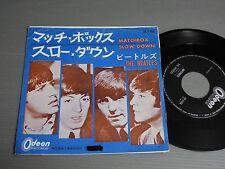 "THE BEATLES Japan 7""/45, MATCHBOX"