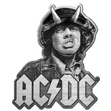 More details for official licensed - ac/dc - angus metal pin badge rock