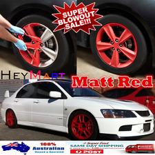 2x Matt Red Rubber Paint Rubber Plasti Dip Car Wheel Rim Rubber Car8 Plasti dip