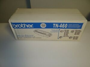 New Sealed Box Genuine OEM Brother TN-460 Extra High Yield Toner Cartridge