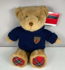 "Ralph Lauren Polo Teddy Bear Plush Stuffed Animal 2008 15"""