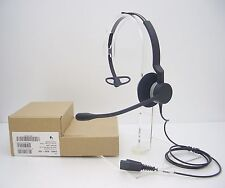 JABRA Biz 2300 Mono QD Wired Over-The-Head Noise-Canceling Office Phone Headset