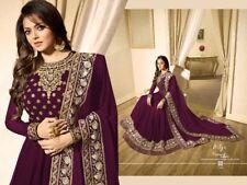 Indian Bollywood Wedding Salwar Kameez suit Ethnic wear  Anarkali Suit Dress LF
