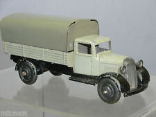 VINTAGE DINKY TOYS MODEL No.25b COVERED WAGON     ( GREY VERSION )