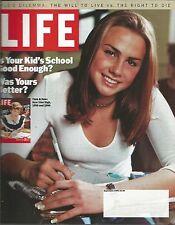 Life September 1999 Hunter & Hunted/River Reborn/History Retouched/Schools