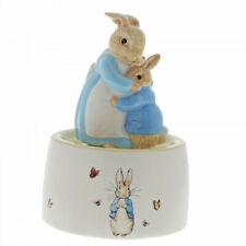 New For 2020 Mrs Rabbit and Peter Rabbit Ceramic Musical Figurine A30003