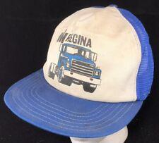 Vtg 80s Mesh Trucker Hat Snapback Cap International Harvester IH Semi Trucks Sk