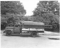 1955 Ford Trucks Press Photo Lot 0276 - Brookline Forestry Dept