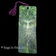 *OAK KNG* Fantasy Green Man Art 3D Bookmark By Anne Stokes (15.5x5.5cm)