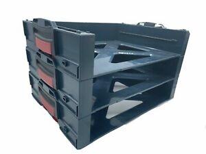 3 x Bosch i-Boxx active Rack 1600A016ND
