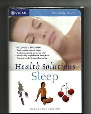 HEALTH SOLUTIONS FOR SLEEP (2003, DVD) BRAND NEW: with 16 Page Booklet